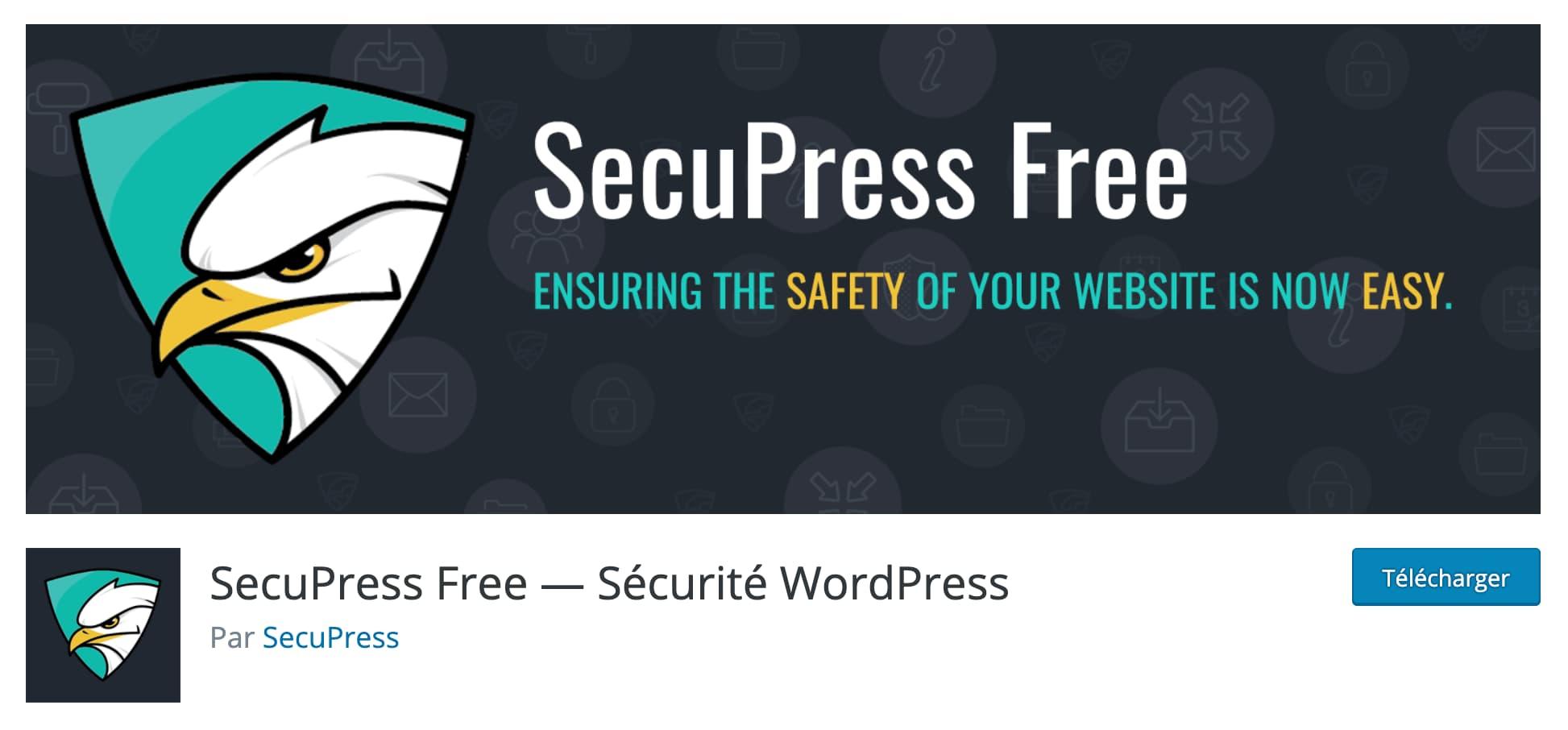 SecuPress - Sécurité WordPress